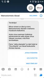 Abot screenshot